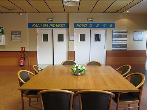 sala da pranzo 6° piano